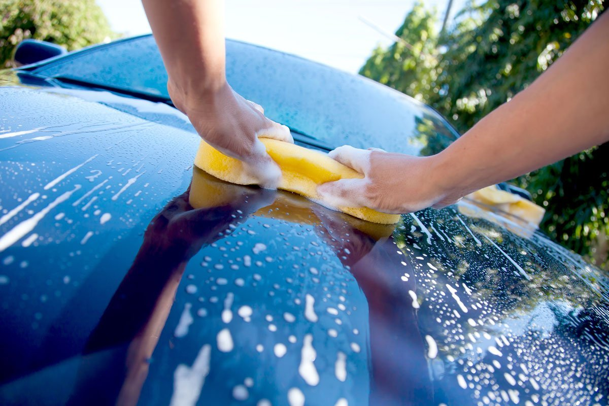 Try This: Hand Wash Your Car