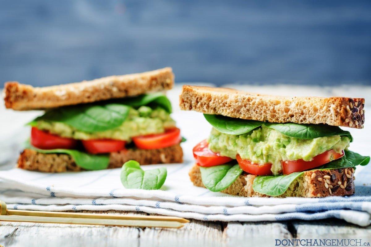 Smashed Chickpea Pesto Sandwich Recipe