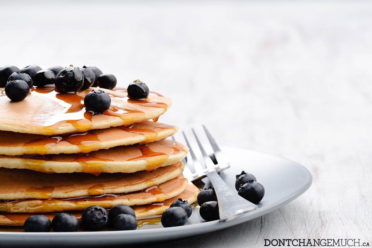 Easy 2 Ingredient Healthy Pancake Recipe