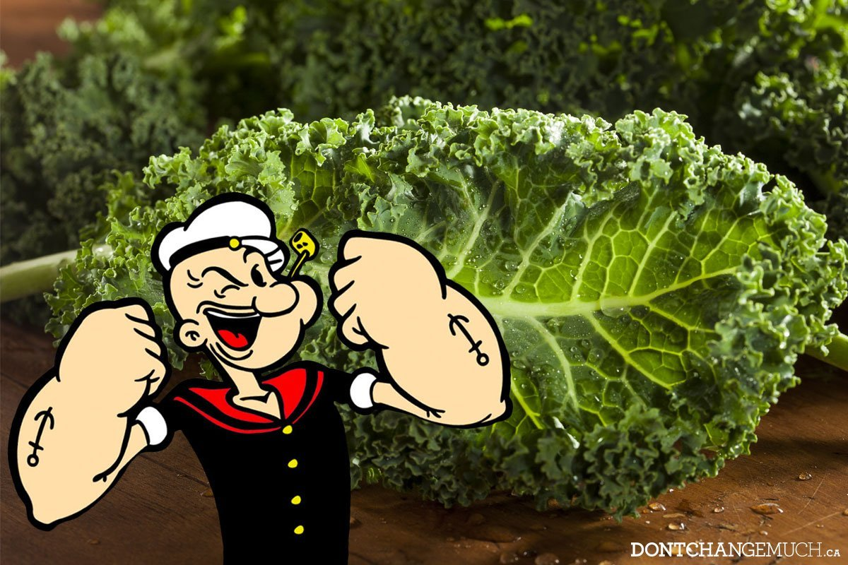 Mighty Kale: The new spinach!