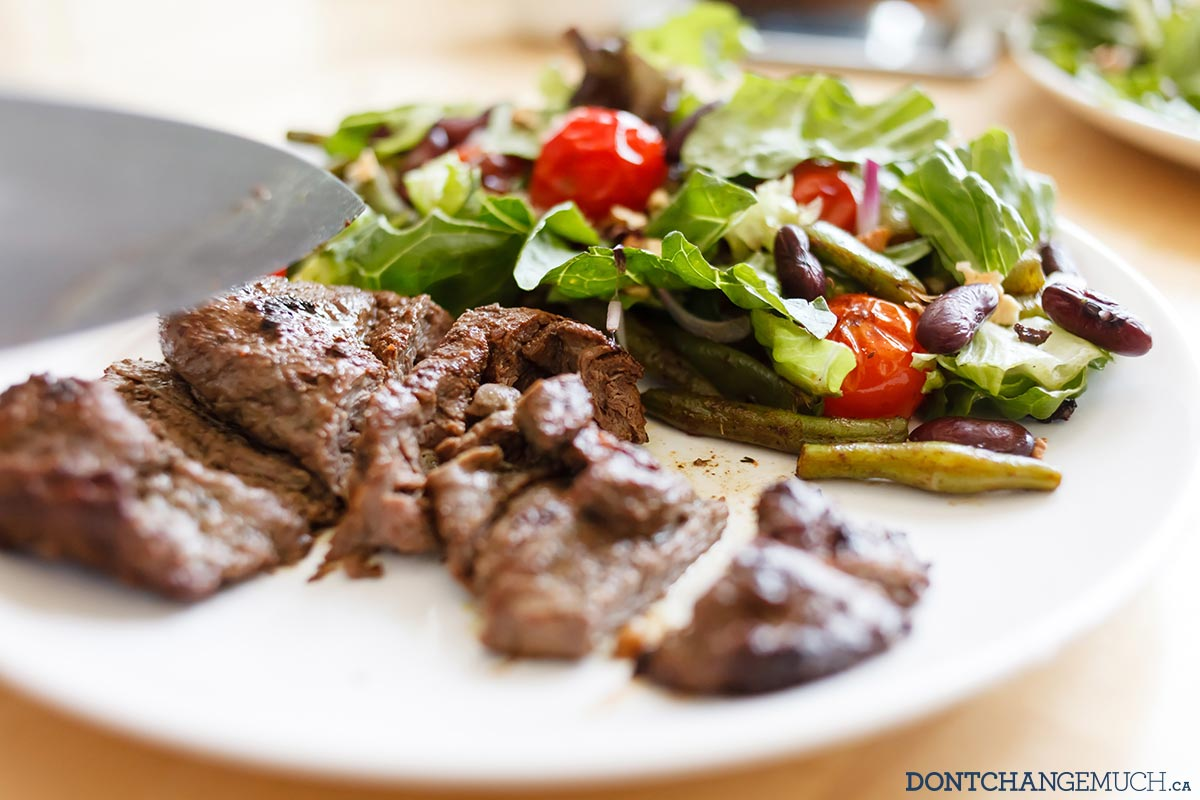 One Ridiculously Good Steak Salad