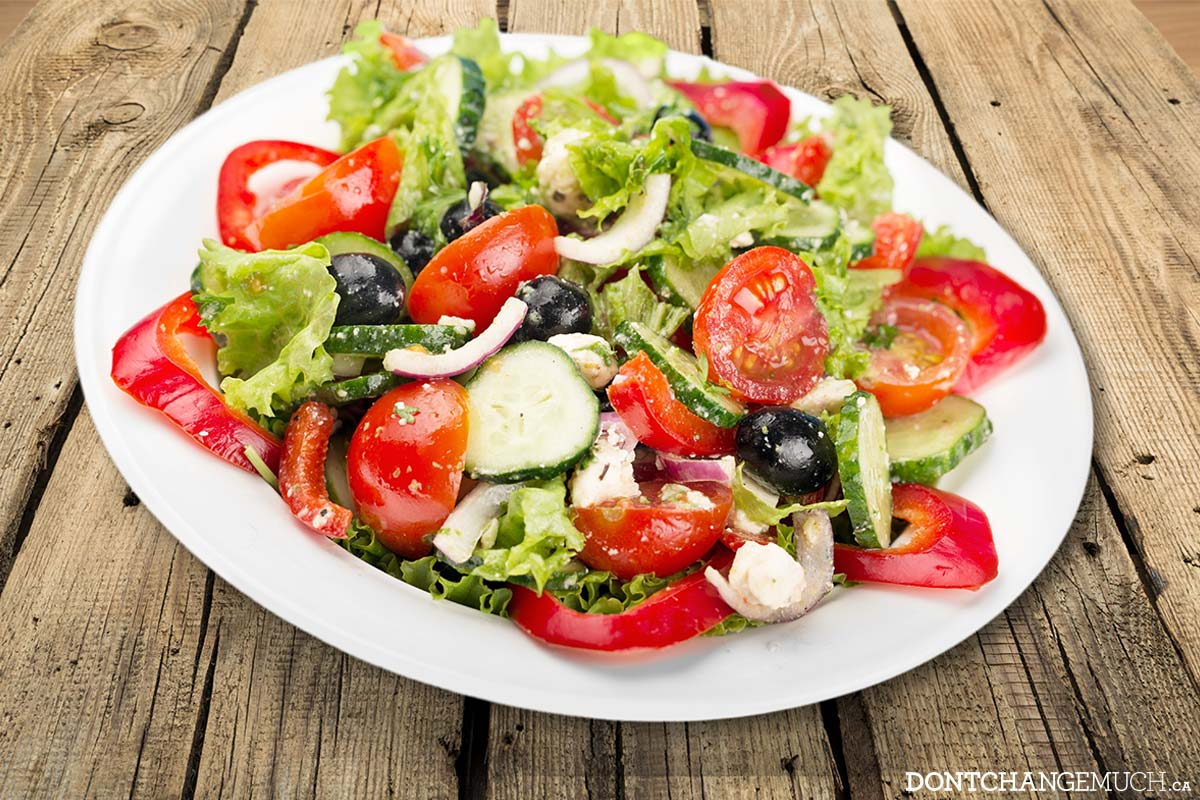 EZ Guy Recipe: Mediterranean Salad