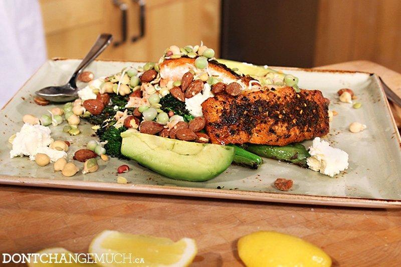 Chef Ned Bell & Trevor Linden's Big Green Salad