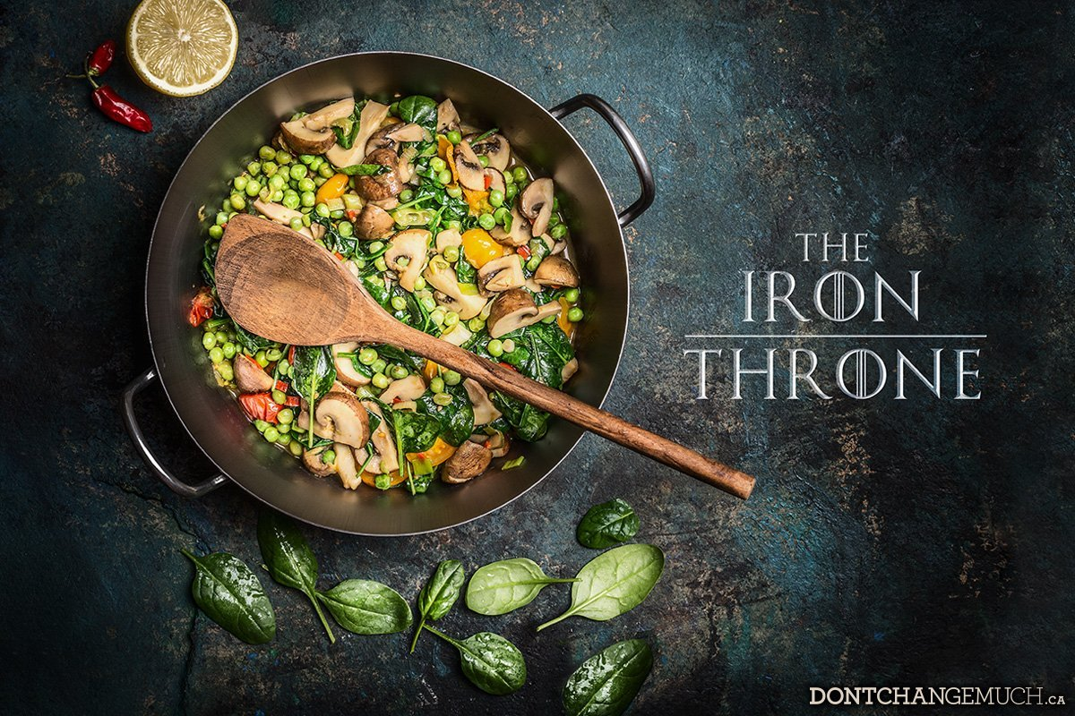 How to Ascend the Iron Throne…in the Kitchen