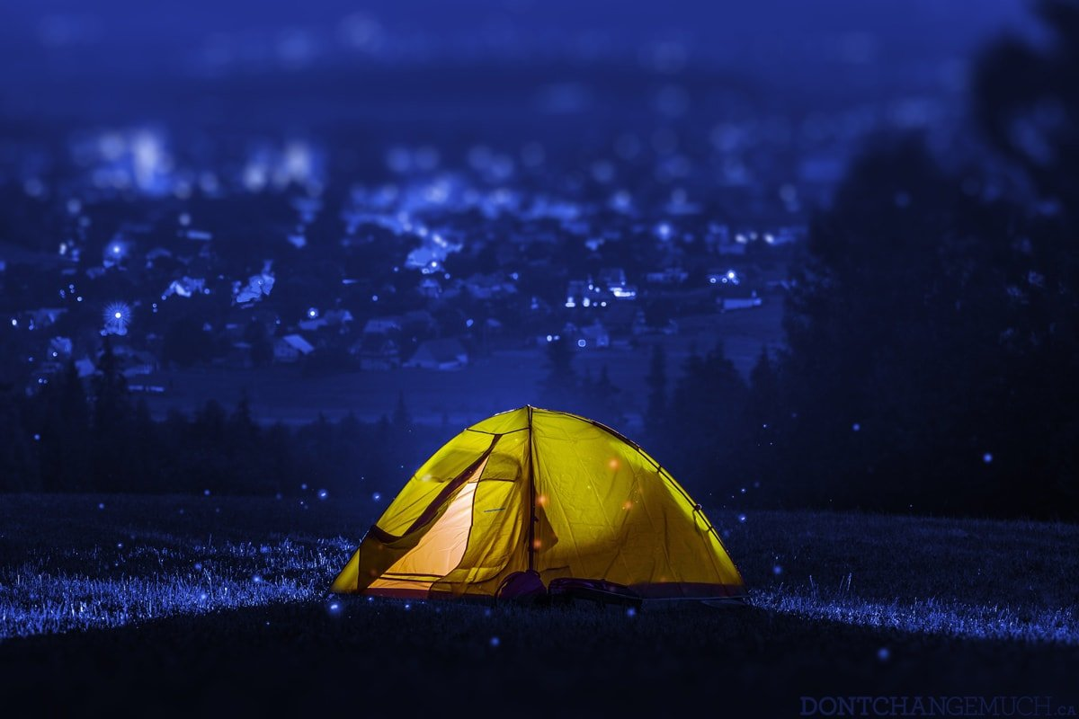 "5 Health Benefits of ""Instant Camping"""