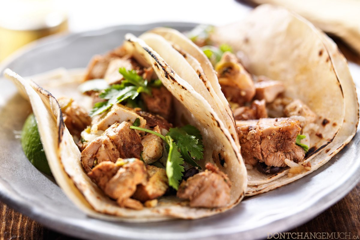 Amazingly healthy chicken tacos recipe spice up your weeknight dinner rotation with this healthy chicken tacos recipe tacos are a ridiculously tasty way to enjoy mexican cuisine theyre quick forumfinder Choice Image