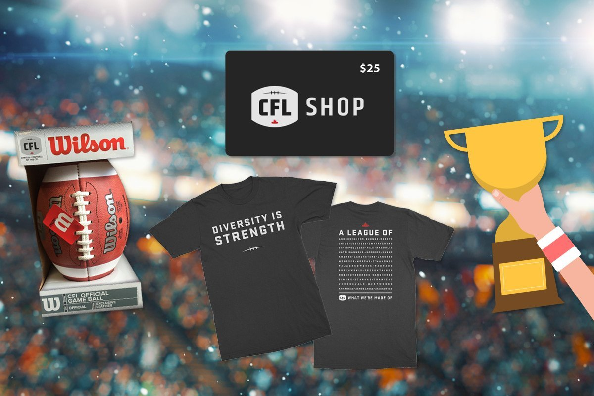 Find Out Who Won The Awesome CFL Prize Bundles!