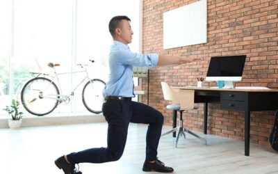 Be like Bond and bust out these easy exercises at work