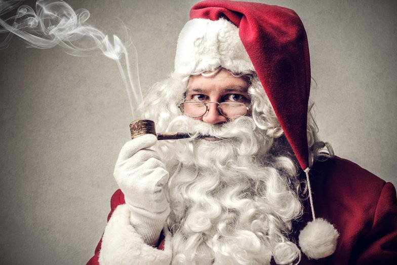 'Twas the Night Before Santa Quit Smoking