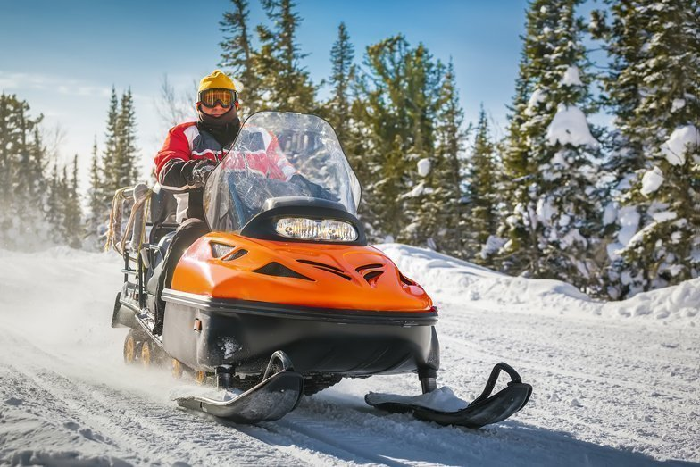 How to look and feel like a true winter warrior by firing up your snowmobile!