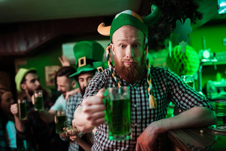 What's easier than making green beer? Staying hydrated on St. Patrick's Day!