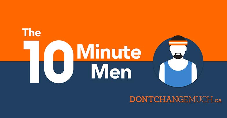 10 Minute Men Facebook cover