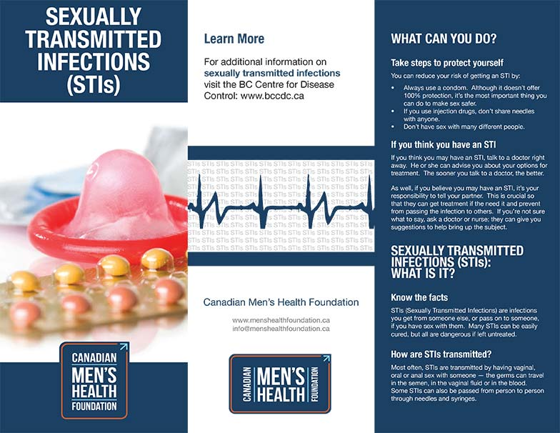 Sexually Transmitted Infection (STI) brochure cover