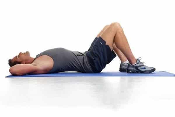Pelvic tilt stretch