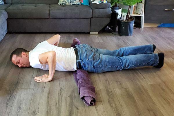 Belly flops stretch