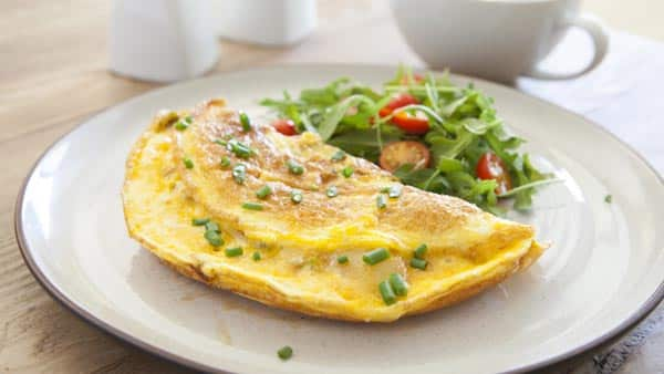 High protein omelet