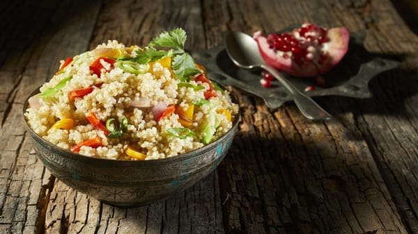 High protein quinoa