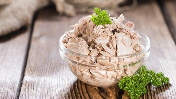 High protein tuna