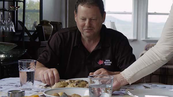 Darren Parks eating healthy